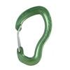 AustriAlpin Micro Wiregate Carabiner green anodized
